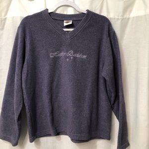 Harley Davidson size medium fleece sweatshirt